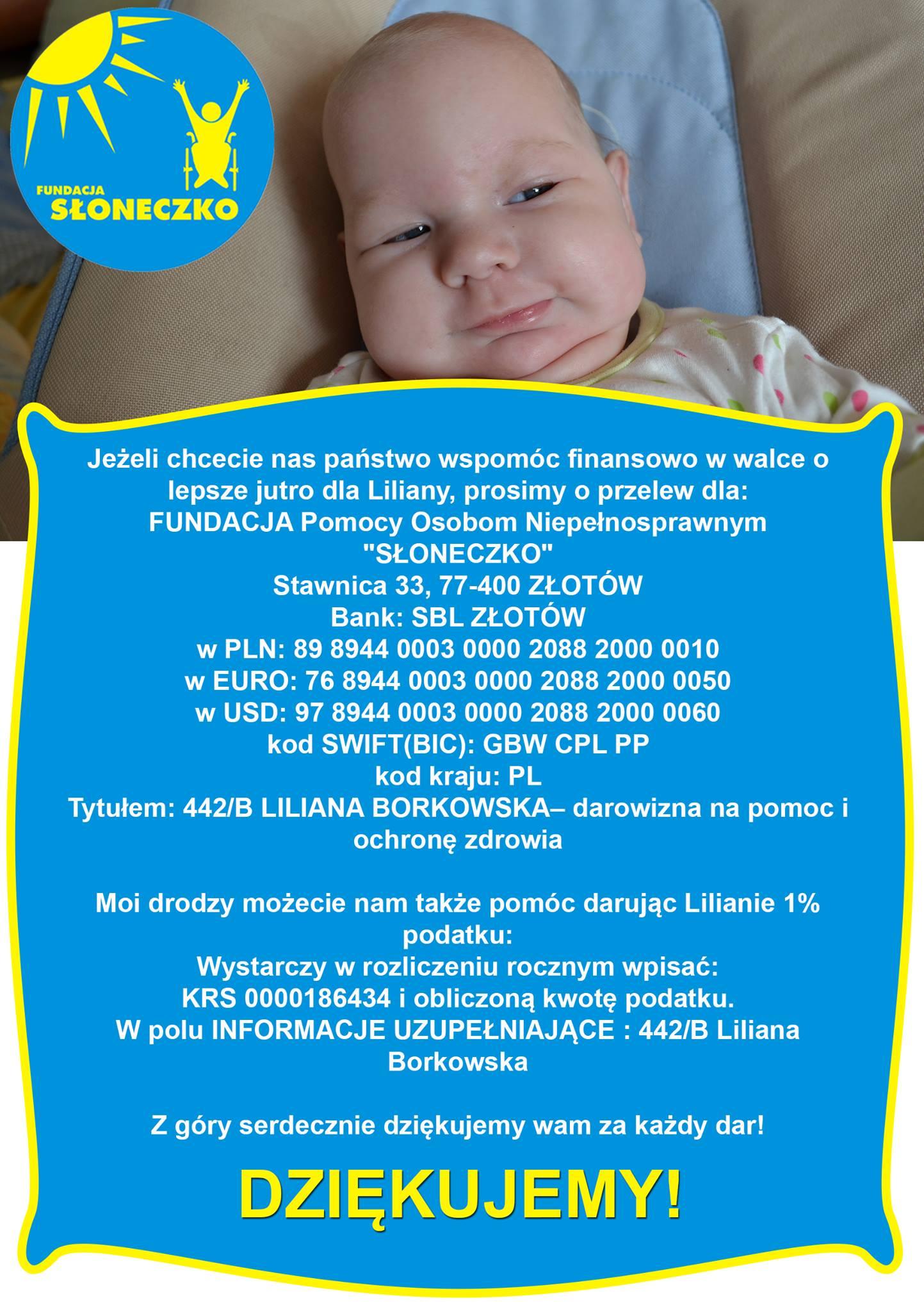Pomoc dla Lilianki